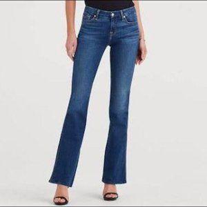 7FAMK 7 For All Mankind A Pocket Jeans Pants Blue